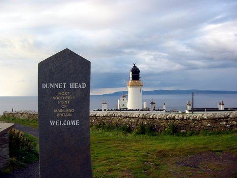 Dunnet Head the real most northerly point on the UK mainland